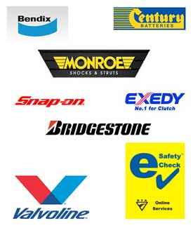 we use and fix these brands